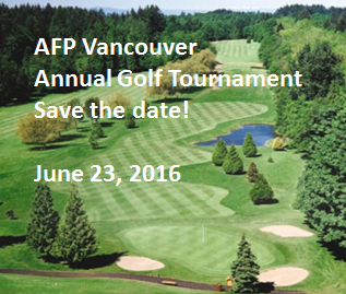 AFP Vancouver Annual Golf Tournament 2016